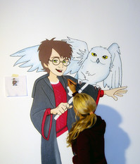 Kinderzimmer-Wandmalerei von Sweetwall: Harry Potter