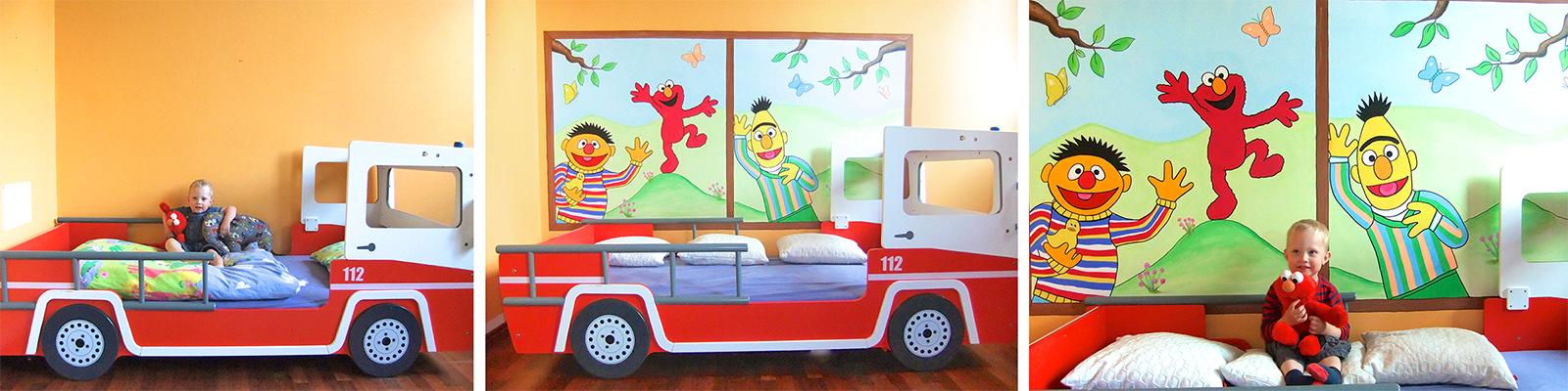 wandbemalung und wandgemlde fr kinderzimmer sweetwall - Wandbemalung Kinderzimmer