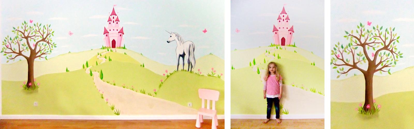 sweetwall wunschmotive fr deine wand - Wandbemalung Kinderzimmer