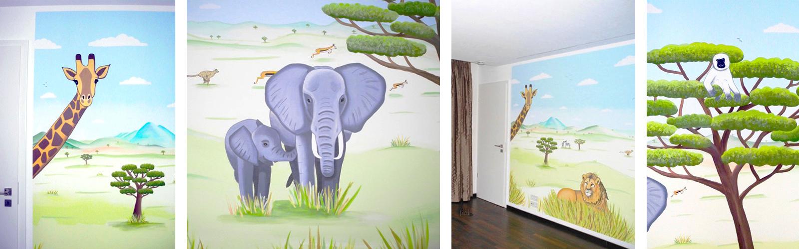 Sweetwall Wunschmotive Fur Deine Wand Wandmalerei Fur