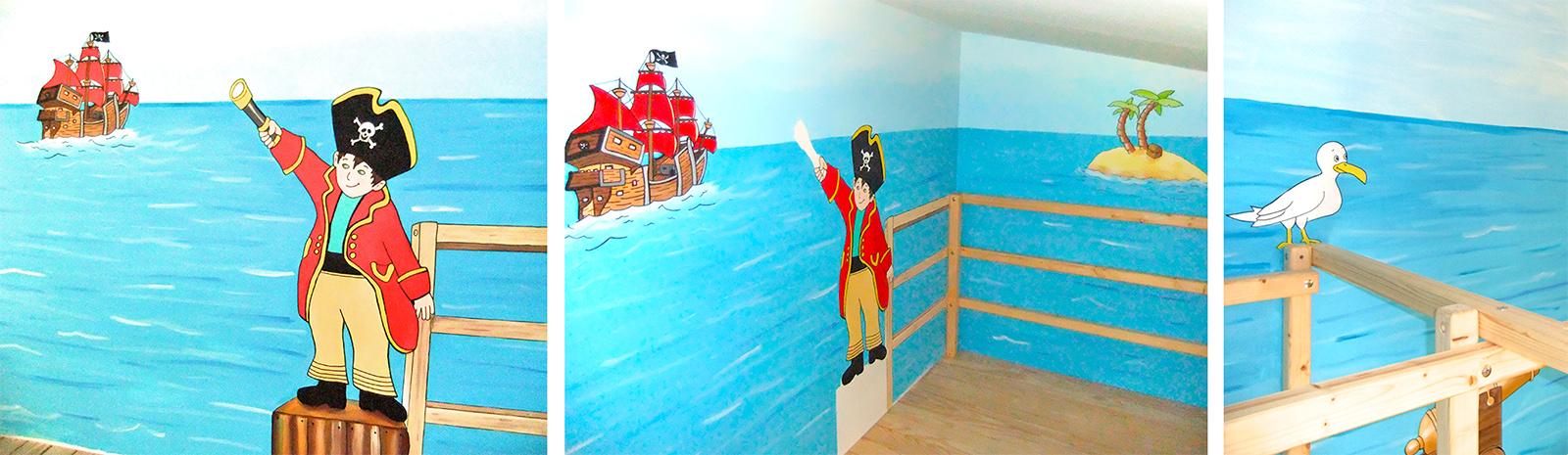 Sweetwall - Wunschmotive für Deine Wand. Wandmalerei für ... | {Kinderzimmer wandgestaltung 94}
