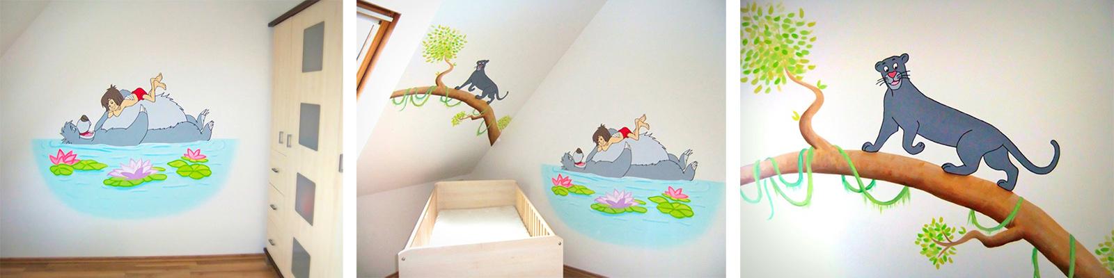 Sweetwall wunschmotive f r deine wand wandmalerei f r for Babyzimmer wandbemalung